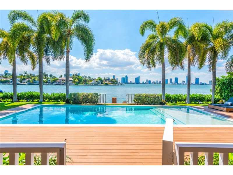 These Miami Beach Waterfront Homes Have The Bay As Their Backyard