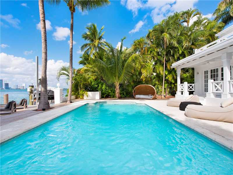 4 Homes For Sale In Miami Beach, Florida With Irresistible Swimming Pools