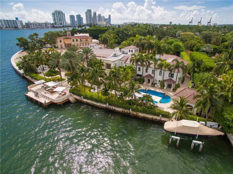 Pobiak - Miami Beach Waterfront Homes - 46 Star Island Drive, Miami Beach, FL 33139 - cover
