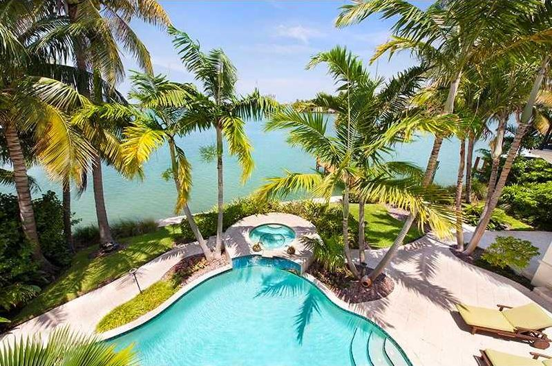 Miami Beach Homes for sale on water